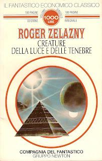 copertina di Creature della luce e delle tenebre di Roger Zelazny