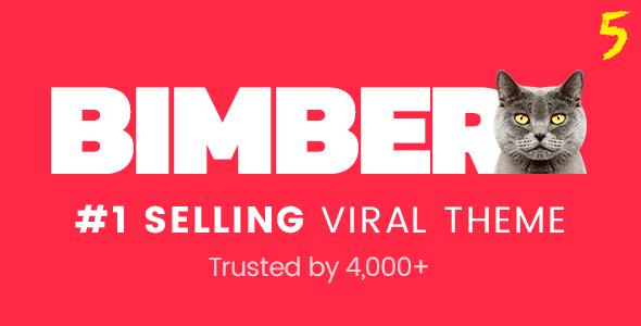 تحميل قالب BIMBER V5.3 مجانا - قوالب وردبرس 2018