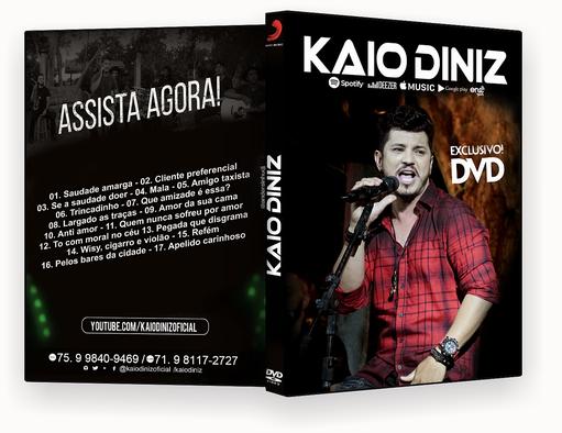 KAIO DINIZ DVD 2018 – ISO – CAPA DVD