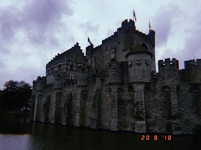 gravensteen castle of the count ghent belgium