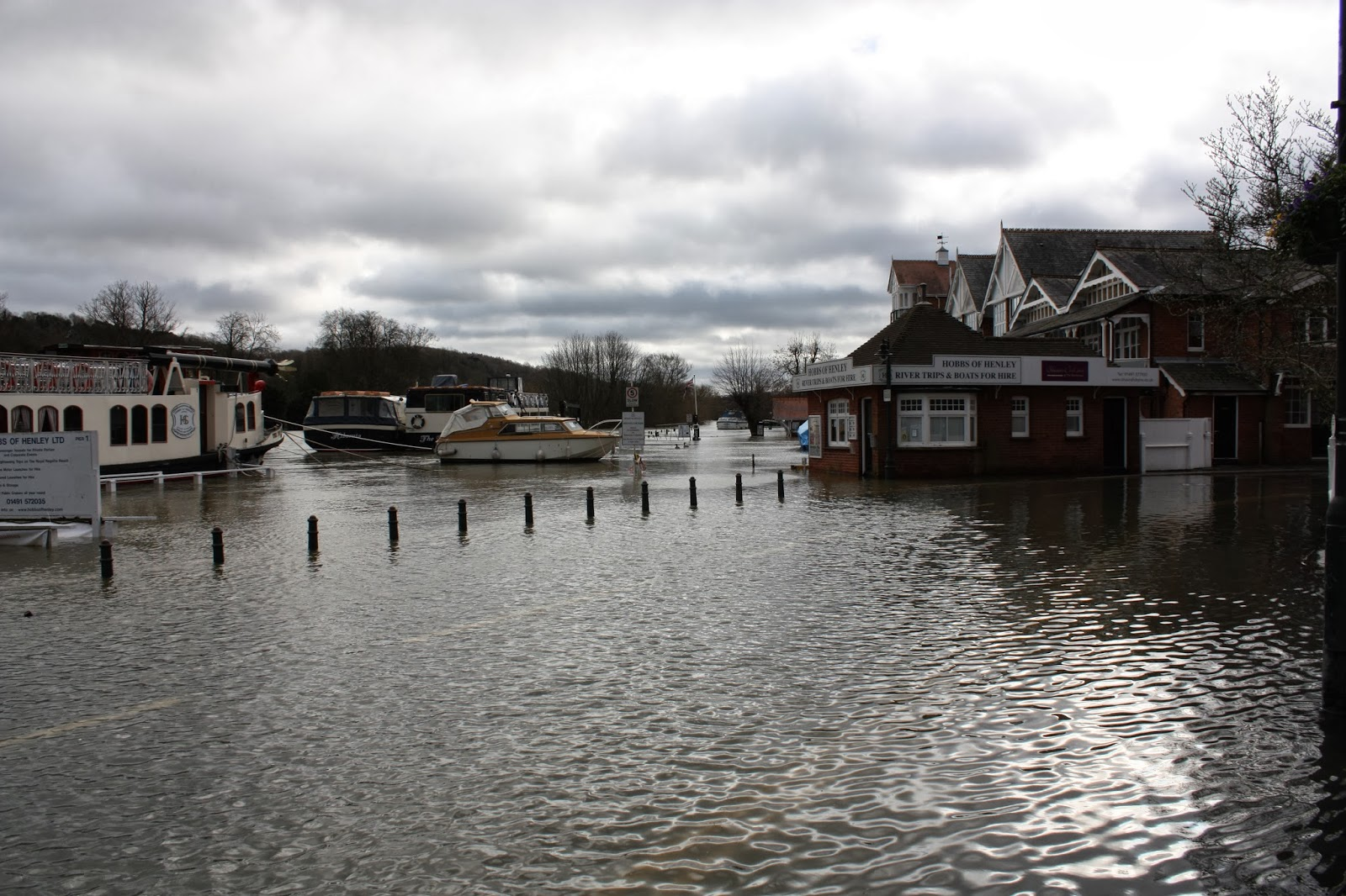 Henley-on-Thames in the floods