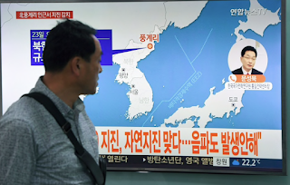 Earthquake strikes North Korea near nuclear test zone, but no radiation reported
