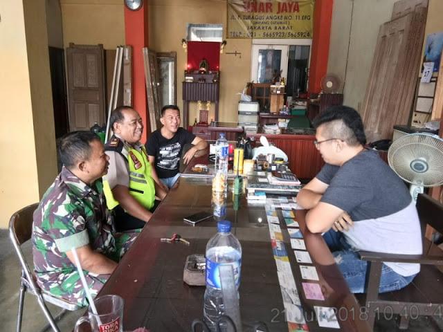 Indahnya Kebersamaan dan Kekompakan TNI-Polri Jakarta Barat
