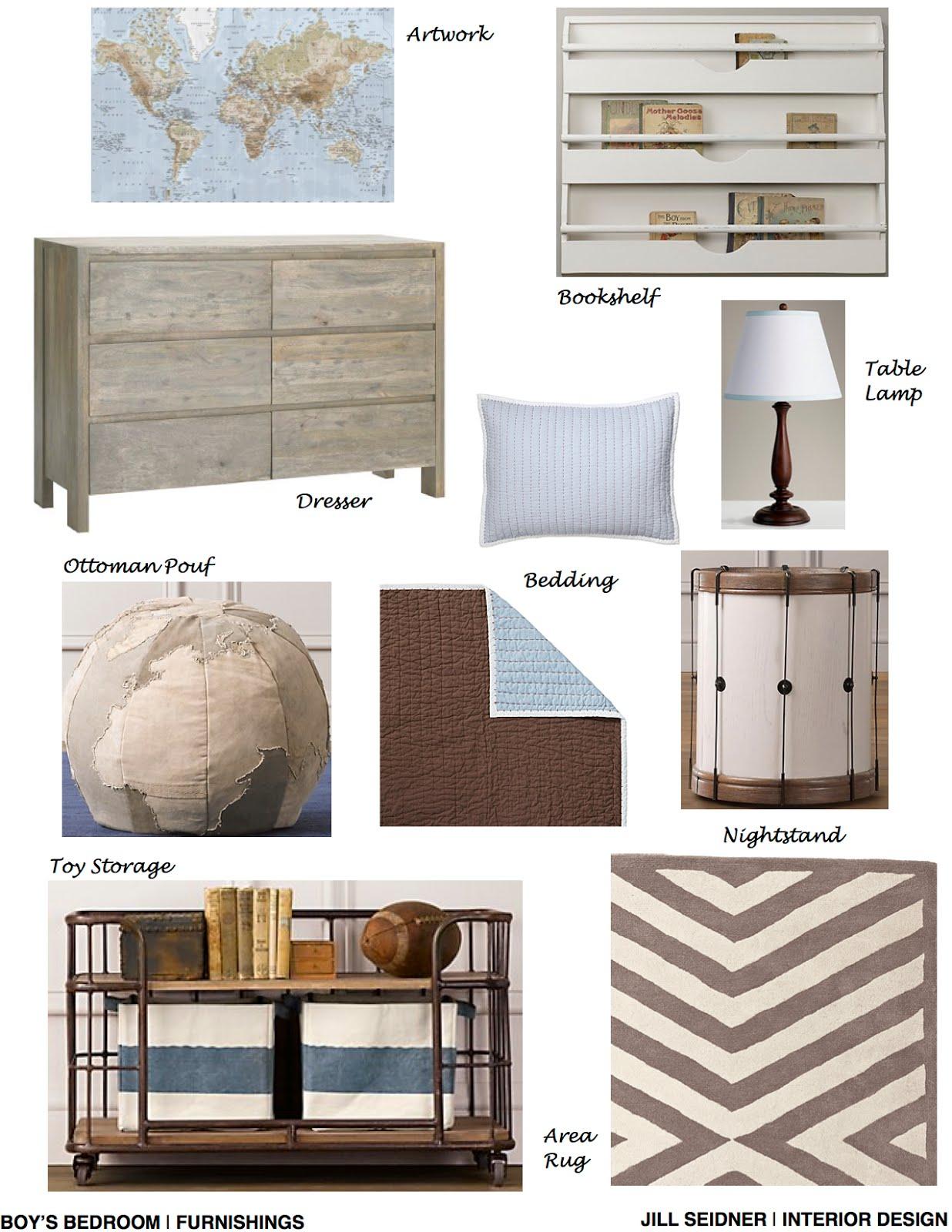Interior Design Online: Jill Seidner Interior Design: Online Design Services