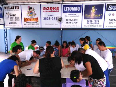 """APAE de Registro-SP inicia o Projeto """"Família e Escola"""""""