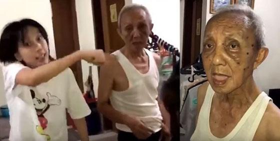 Viral! Video Anak Durhaka Pukuli Bapaknya Hebohkan Facebook