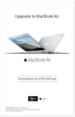 Upgrade to the MacBook Air | Amazing discount offer on MacBook for June 2016