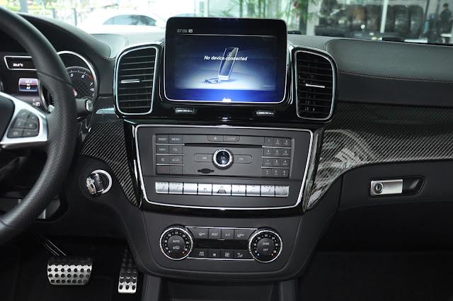 Mercedes AMG GLE 43 4MATIC Coupe sử dụng Hệ thống âm thanh vòm 14 loa