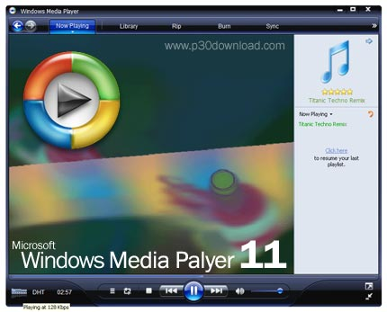 Windows media player 11 free download software.