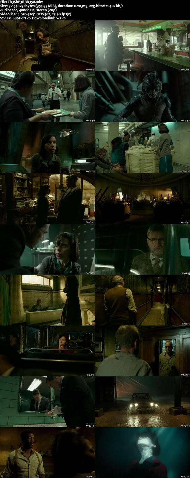 The Shape of Water 2017 English 480p BRRip ESubs
