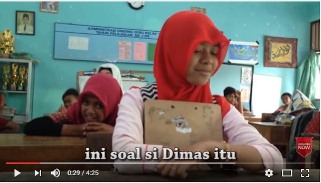 VIRAL MEDSOS : Cerita Dimas & Ruroh Siswa Kelas 6 SD yang Jadi Tranding Medsos, Berikut Kisahnya...