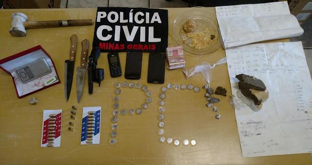 Polícia Civil prende dois por tráfico de drogas em operação no Barreiro