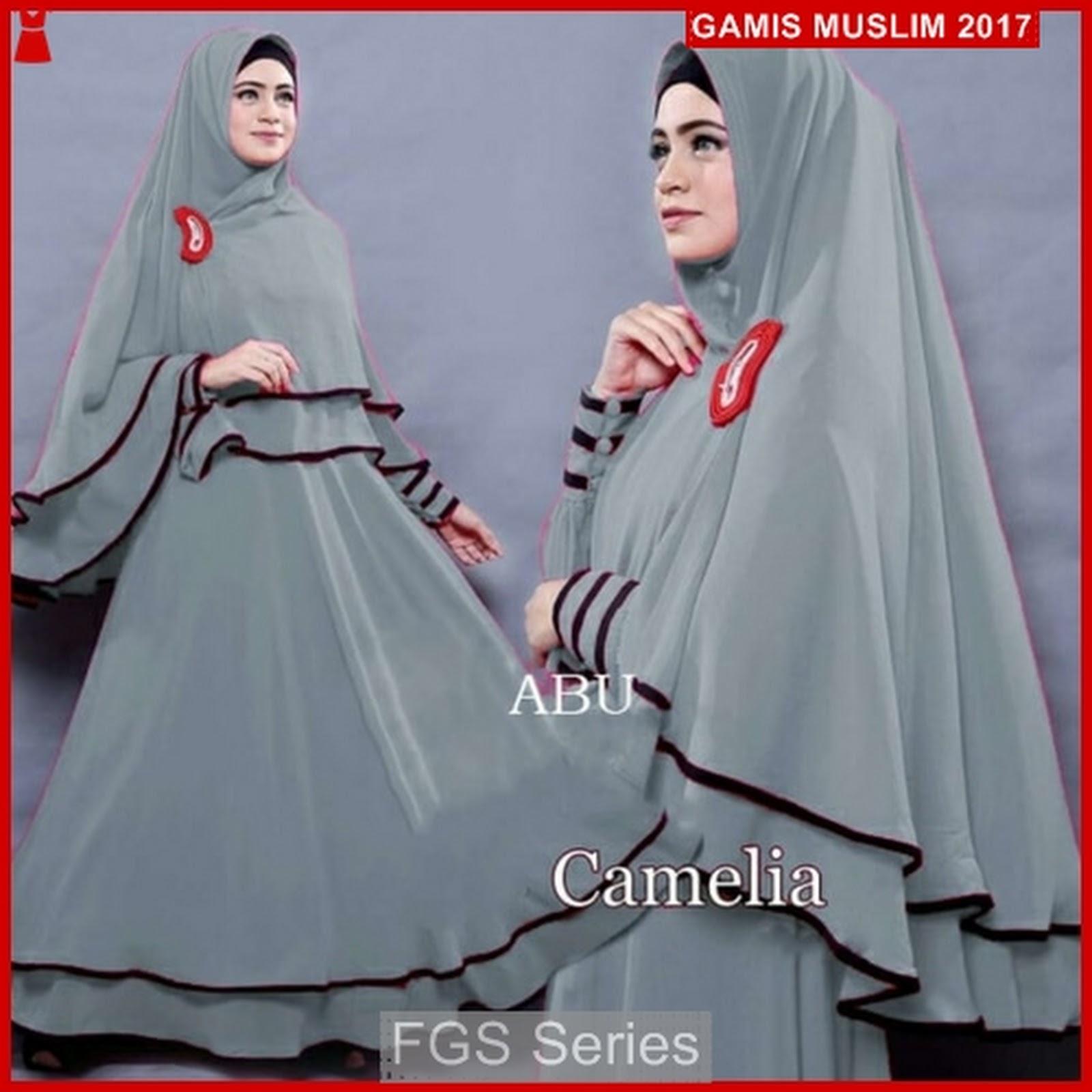 Gamis Muslim Simple Modern