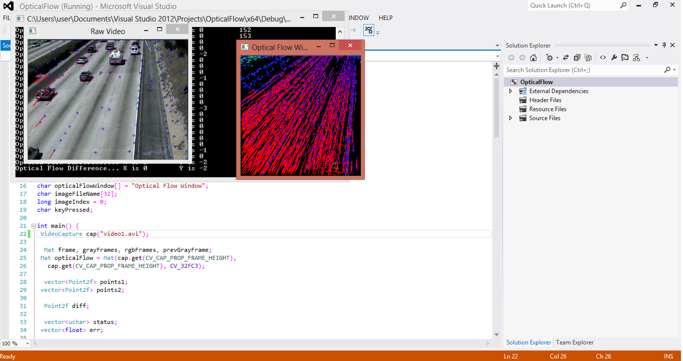 OpenCV with C++
