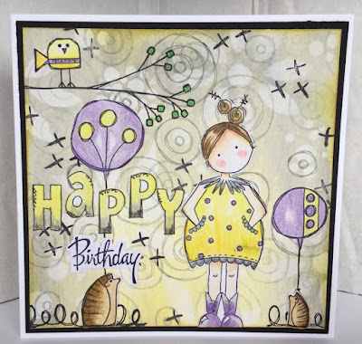 A lovely card from Kirsten Alicia Sheridan