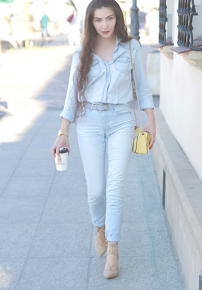 total jeans look