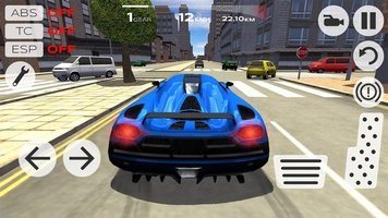 Game Extreme Car Driving Simulator