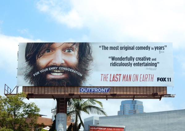 Last Man on Earth 2015 Emmy billboard