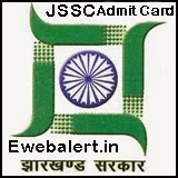 Jharkhand SSC Admit Card