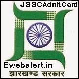 Jharkhand SSC Admit Card