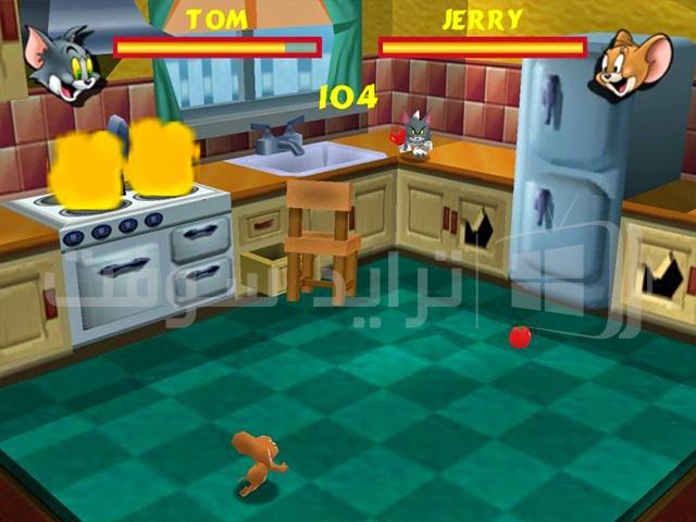 لعبة توم وجيري للاطفال الصغار وللكبار