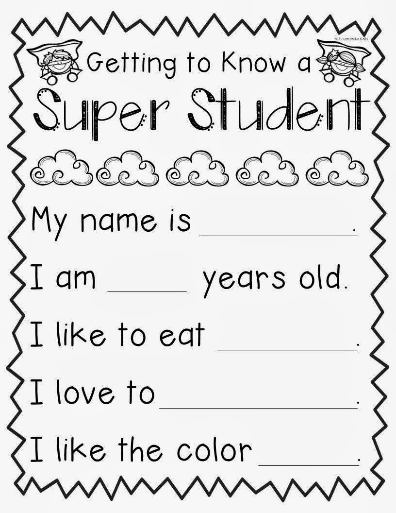 Mrs. Kelly's Klass: SUPER Student! {FREEEEEEBIE!}