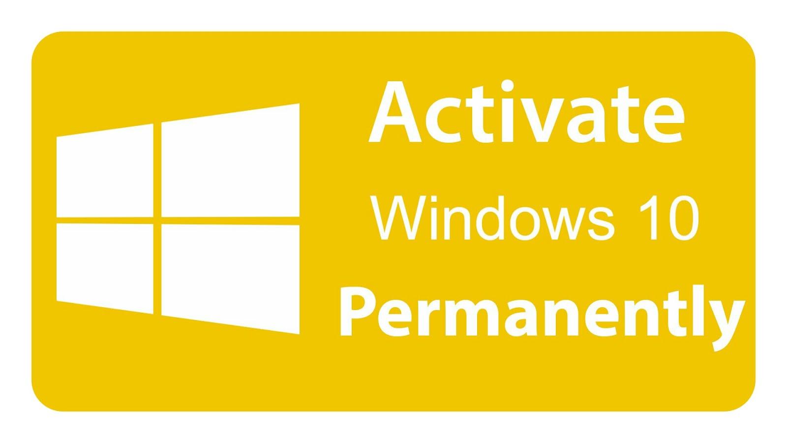 free download windows 10 permanent activator