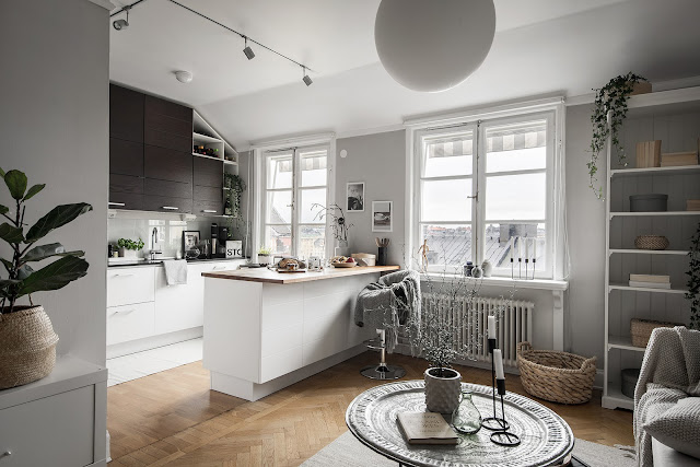 Fantastic and cozy scandinavian interior
