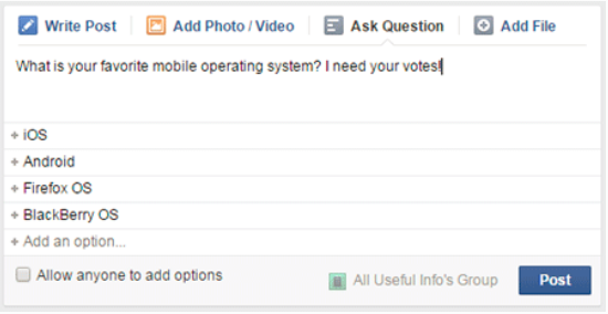 How to Create A Poll On Facebook - Jason-Queally