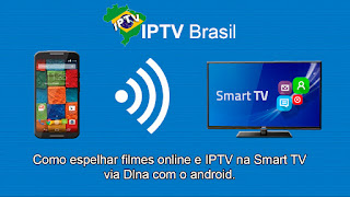 Tutorial – Como espelhar filmes online e IPTV na Smart TV via Dlna com android.