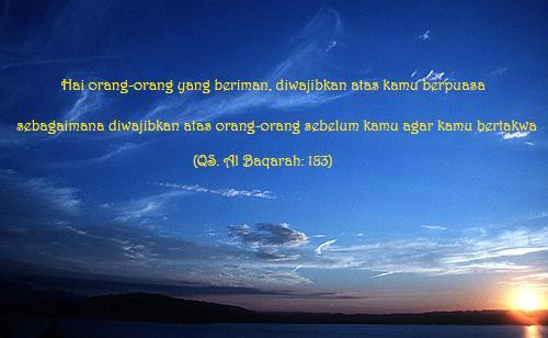 Manfaat Dan Hikmah Puasa Di Bulan Suci Ramadhan