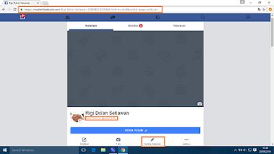 Membuat username halaman