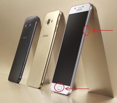Cara Mudah Screenshot Samsung Galaxy A8