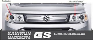 Projector & Multi Reflector Headlamp Wagon GS