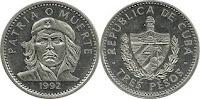 3 Pesos - Cuba - 1992