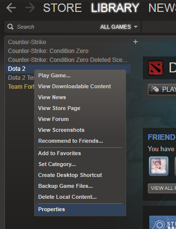 """How to fix """"Your map differs from the server"""" Dota 2 ~ Dota 2 Throne"""