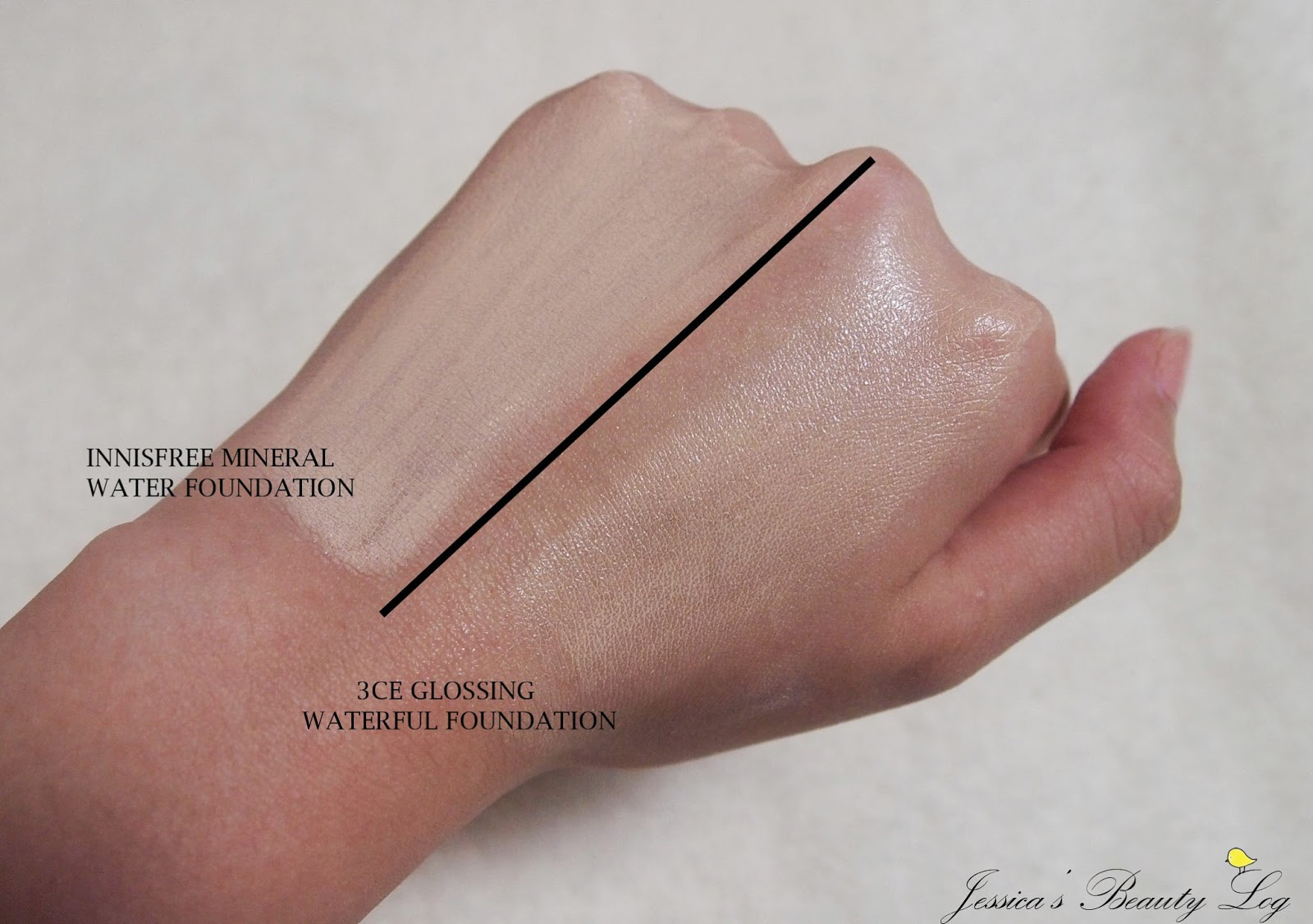 Glossing Waterful Foundation SPF15 PA+ by 3 Concept Eyes #3
