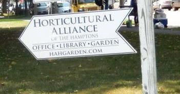 Tomorrow - Sunday Dec 10  I speak at the  Horticultural Alliance of the Hamptons