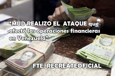 REALIZO EL  ATAQUE que afectó las operaciones financieras en el país1