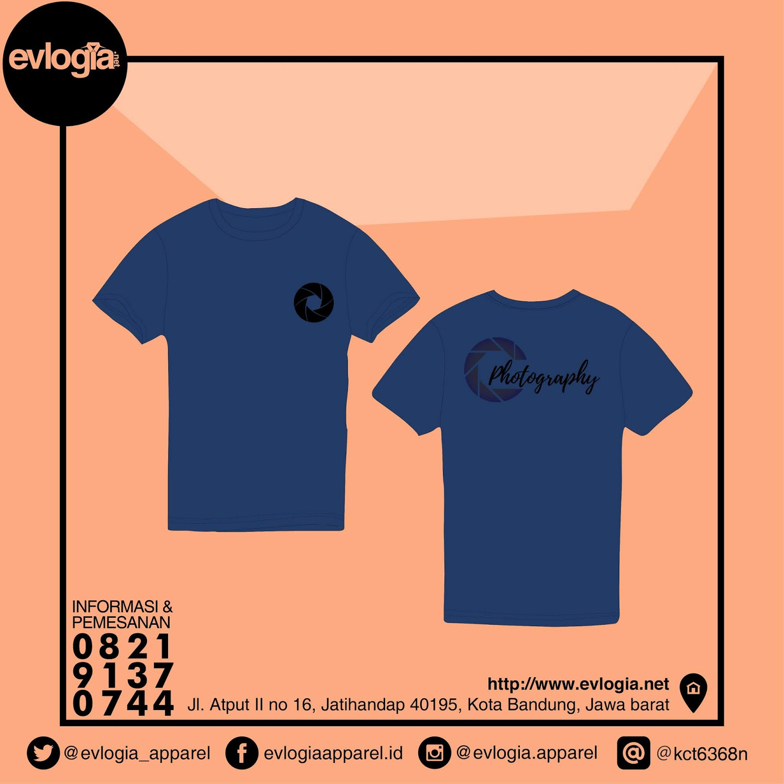 Bikin Kaos / Baju Murah Berkualitas Bandung - Model Photography