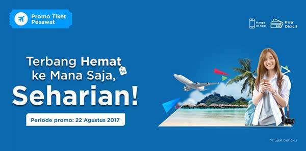 Promo Murah Tiket.com Edisi 22 Agustus