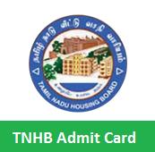 TNHB Admit Card