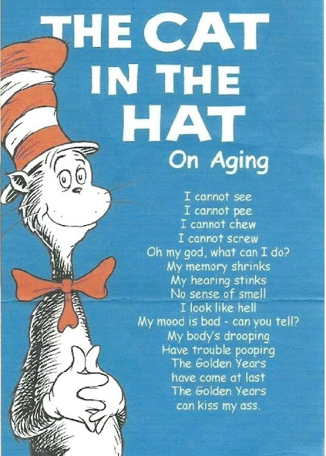 The Cat in the Hat - On Aging...