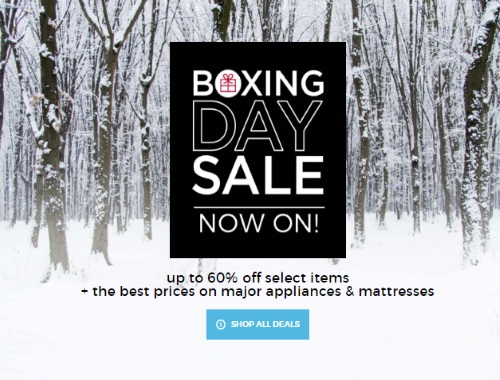 Sears Boxing Day Sale