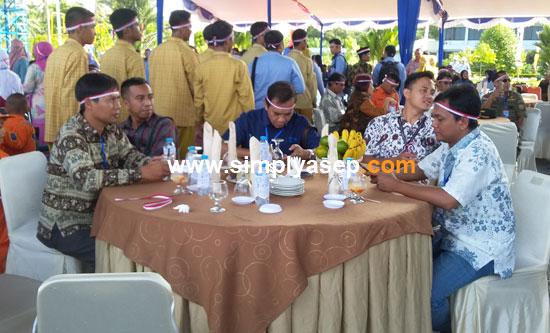AWAK MEDIA : Sejumlah pimpinan awak meida juga diundang hadir dan mereka mendapat apresiasi dari Lanud Supadio atas kerjasamanya memviralkan aktifitas Lanud Supadio kepada masyaraat.   Foto Asep Haryono