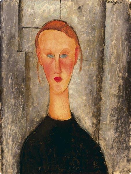 SVETSLIK.SI - Ogled slike Portrait of Jeanne Hébuterne I