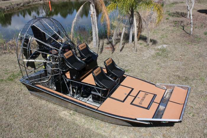 Diamondback Airboat Seadek Marine Products