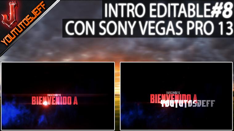 Intro Editable #8 con sony vegas PRO 13 | 2016