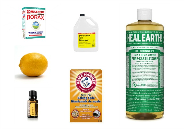 Non Toxic Cleaning: 5 Easy Recipes for Cleaning Solutions that Work