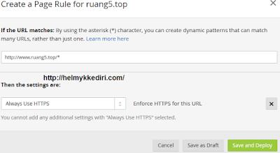 Cara Pasang SSL pada Domain diblogger7